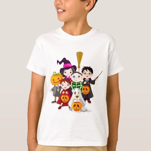 Boys and girls Friendship Day Emotion T_Shirt