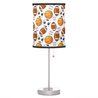 Boys and girls Sports Theme Table Lamp