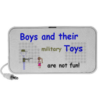 Boys and Their Toys Travelling Speakers