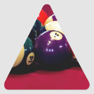 Boys and there Balls Triangle Sticker