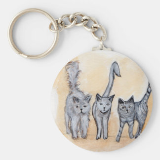 Boys are back in town keychain