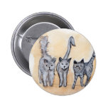 Boys are back in town pinback button