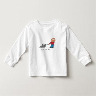 Boys are evil toddler t-shirt