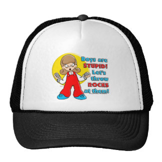 Boy's are Stupid ... Trucker Hat