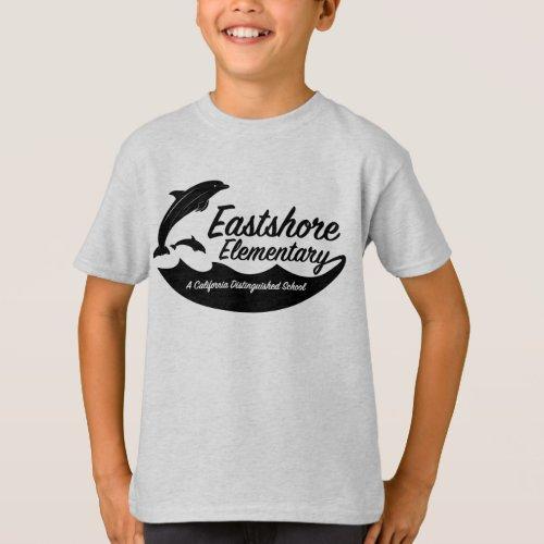 Boys Ash Jumping Dolphin T_Shirt