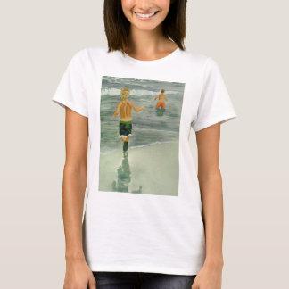 Boys at the beach T-Shirt