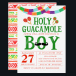 "Boy&#39;s Baby Shower Fiesta Invitation<br><div class=""desc"">If you need custom colors or assistance in creating your design,  feel free to contact me at zazzlepartydepot@gmail.com. I look forward to hearing from you!</div>"