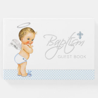 Boys Baptism Guest Book