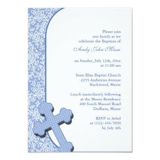 Boy's Baptism Invitation