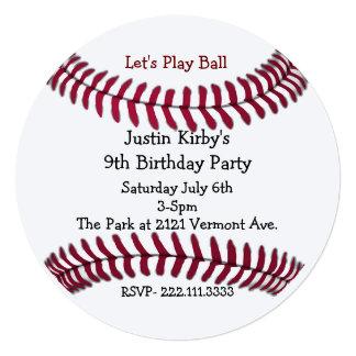 Baseball Invitations Announcements Zazzle