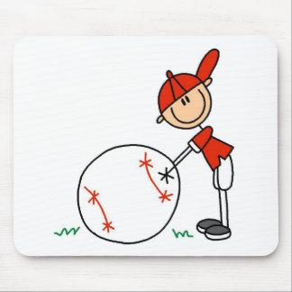 Boys Baseball Customize Mouse Mat