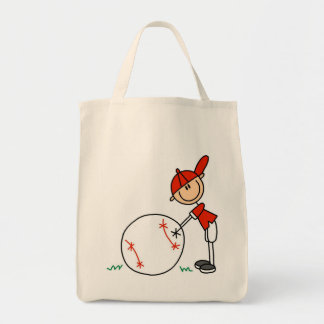 Boys Baseball Customize Tshirts and Gifts Canvas Bags