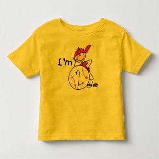 Boy's Baseball I'm 2 Toddler T-shirt