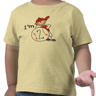 Boy's Baseball I'm 2 Tshirt