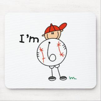 Boy's Baseball I'm 6 Mouse Mats
