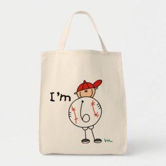 Boy's Baseball I'm 6 Tshirts and Gifts Bags
