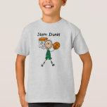 Boys Basketball Slam Dunk T-Shirt