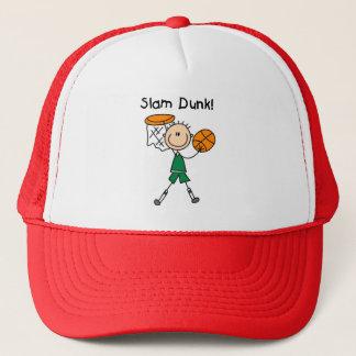 Boys Basketball Slam Dunk Trucker Hat