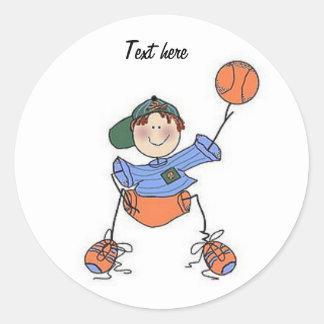 Boys basketball Sticker