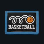 """Boys basketball wallet   sports gift for kids<br><div class=""""desc"""">Boys basketball wallet   sports gift for kids. Personalizable design. Custom kids gifts. Personalizable with name or monogram. Fun gift idea for teenagers and younger children into sport. Personalized present with name or initials. Sporty blue and other colors available.</div>"""