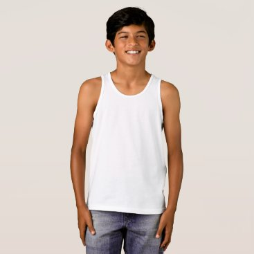 Beach Themed Boys' Bella Canvas Jersey Tank Top