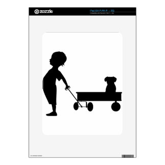 Boy's Best Friend Decal For The iPad