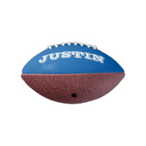 Boys Birthday gift idea Personalized mini football