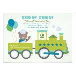 Boy's Birthday Party Invitation | Vintage Train