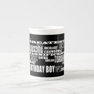 Boys Birthdays : Greatest Most Birthday Boy Bone China Mug