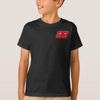 Boys Black Front/Back Print Tshirt