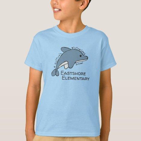 Boy's Blue Lugubrious Dolphin T-Shirt