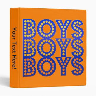 Boys Boys Boys Binder