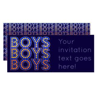 Boys Boys Boys Card