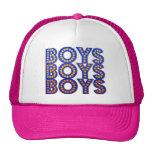 Boys Boys Boys Mesh Hats