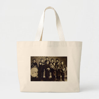 Boys Brass Band, Warsaw Indiana Vintage Tote Bags