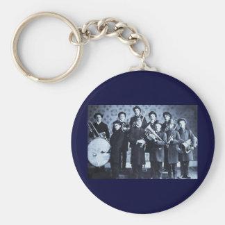 Boys Brass Band, Warsaw Indiana Vintage Keychain