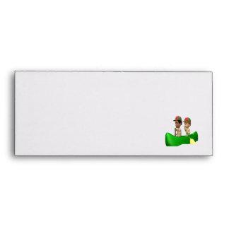 Boys Canoeing Envelopes