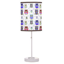 Boy's Cartoon Owls Children Lamp