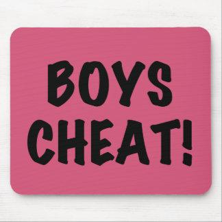 Boys Cheat Mouse Pad