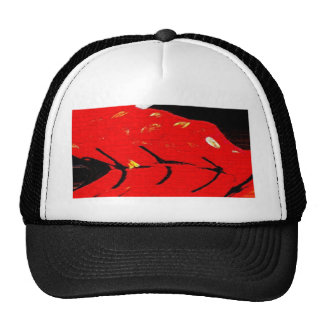 Boy's Chinese Costume, abstract 2 Trucker Hat