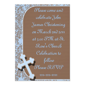 Boys Christening  Invitations