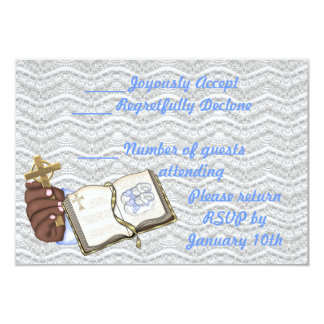 Boys Christenings Book 3.5x5 Paper Invitation Card