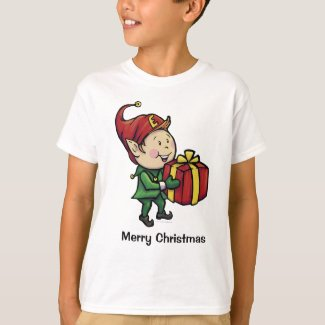 Boys Christmas Elf T-Shirt