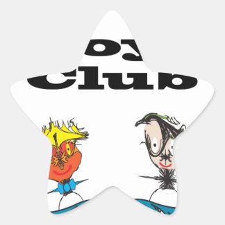 Boys Club.ai Star Sticker