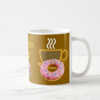 Boy's Coffee & Doughnut Mug