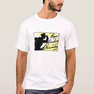 Boys! Come Along You're Wanted -- British WWI T-Shirt