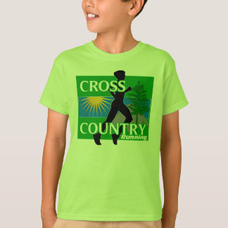 Boys Cross Country Running T-Shirt
