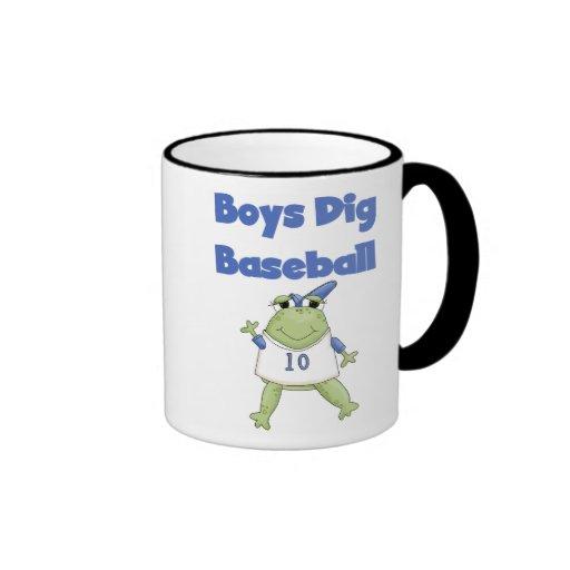 Boys Dig Baseball Mug