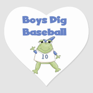Boys Dig Baseball T-shirts and Gifts Stickers