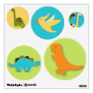 Boys Dinosaur Dino Nursery Wall Stickers Decals